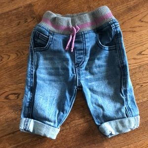 3-6 month Roots jeans
